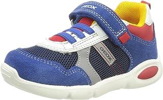 Geox 男婴 B Pillow First Walker 鞋