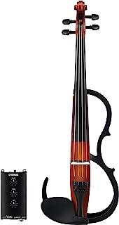 Yamaha 雅马哈 小提琴 静音小提琴 SV250 实现与原声小提琴同等的重量和平衡 采用民谣小提琴相同的尾片、琴颈、绕线等