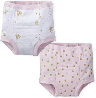 Gerber 女宝宝训练裤2件装,公主 粉红色 2T