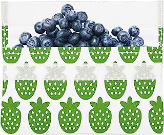 Lunchskins 可重复使用沙漏食品袋,零食,绿莓