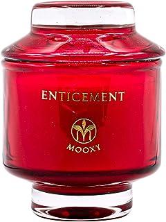 MOOXY 香薰蜡烛   长燃烧大豆蜡烛 适用于家居香味   男女家居装饰礼品套装   8 盎司(约 226.8 克)金银花 45 小时燃烧   诱人香味蜡烛