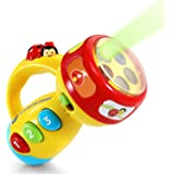VTech Spin and Learn 彩色手电筒 手电筒玩具 黄色