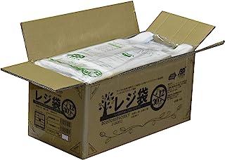 深蓝屋商事箱销售;带提手收银袋乳白 生物塑料25%配东日本12号尺寸西日本30号尺寸(100张1册x25册/2500张装) 01043012