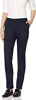 Classroom Uniforms 青少年弹力紧身长裤 深蓝色 3/4