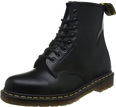 Dr Martens 女士 1460 W 黑色 牛皮皮靴 马丁靴 UK(38) (亚马逊自营 保税区发货)