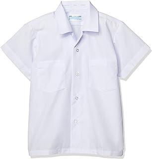 [蜻蜓学生服] 小学 开领衬衫短袖 T-12-23 男孩