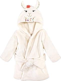 Little Treasure 中性款婴儿毛绒浴袍,羊驼色,0-9 个月