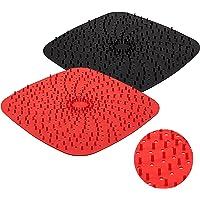 可重复使用的空气炸锅衬垫,带凸起的硅胶|*产品 | 不含 BPA 的不粘硅胶空气炸锅垫 | 空气炸锅硅胶托盘配件 | 2…