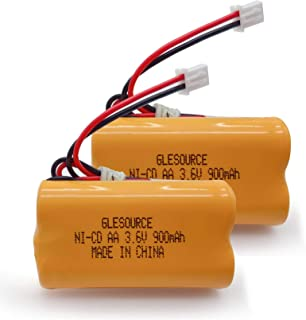 GLESOURCE 3.6V 900mAh 退出标志应急灯电池替换件适用于 Exitronix 10010037、Max Power B2-0031 MH468886、Unitech LEDR-1 6200RP、Dantona CUSTOM-3...