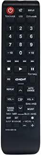 AH59-02613B 替换遥控器适用于三星迷你紧凑型系统 MXH630 MX-H630 MX-H730 MXH730 MXH835 MX-H835 MX-H630/ZA MX-H730/ZA