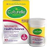 Culturelle 康萃乐 女性平衡益生元| 30粒| 益生元菌株支持吸收,有益于机体系统和阴道* | 经验证的有效益…