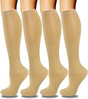 Copper 脚踝压缩袜 男女皆宜 - 低帮跑步袜适合运动、旅行、运动、*