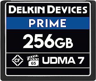 Delkin Devices 256GB Prime CompactFlash VPG-65 内存卡 (DDCFB1050256)