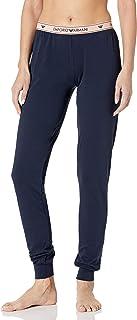 Emporio Armani 安普里奥·阿玛尼女式标志性徽标裤,带袖口