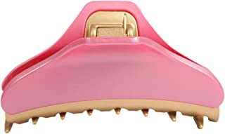 Caravan Peach Painted 法国发爪,带金色亮点