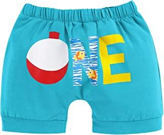 男婴夏季短裤下装钓鱼恐龙尿布套裤子*个生日蛋糕粉碎服装照片道具