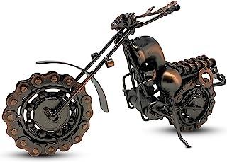 废弃自行车 El Diablo 废铁金属模型;金属件和零件手工焊接;男女皆宜的摩托车骑手的独特礼物 | 正品手工制作摩托车艺术经久耐用