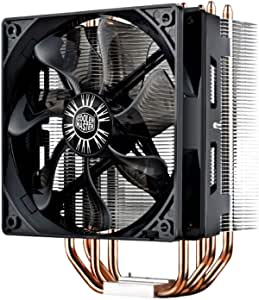 Cooler Master Hyper 212 Evo CPU 散热器,4 根 CDC 热管,120 毫米 PWM 风扇,铝鳍,适用于 AMD Ryzen / Intel LGA1200/1151