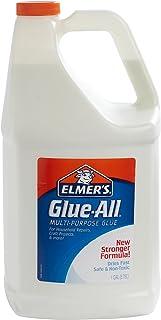 Elmer's 胶水-多种用途的胶水,特强,非常适合制造粘液,1加仑/3.78升,1件