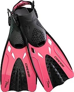 Cressi 成人可调节浮潜鳍带超抗搭扣,非常轻便,非常适合旅行 - 汤加:意大利设计