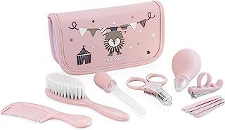 Miniland 完整家庭和旅行婴儿护理套装,粉色