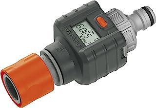 Gardena Water 智能流量计:实用的水表,可连接到水龙头或用水装置,以清晰的显示监控用水量; 电池供电 (8188-20)