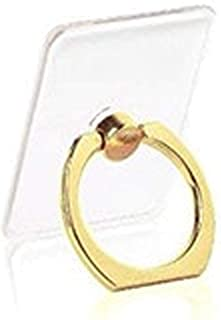 DDL 不起眼的透明透明防摔戒指(贴在智能手机壳上)金