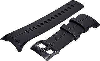 Suunto , 适用于所有 Spartan Ultra 手表的原装表带,硅胶,长度:24.5 厘米,宽度:25 毫米,深黑色,包括。 附件针,SS022687000