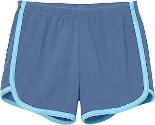 City Threads 女孩跑步锻炼短裤瑜伽运动健身短裤,* 纯棉 - 美国制造