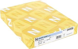 Neenah Paper 4456 Neenah 100 磅经典徽章卡片纸 21.9 厘米 X 250 张装