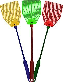 OFXDD 橡胶飞翔器, 长飞式抽水器套装,Fly Swatter 重型,随机灯光颜色(3 件装)
