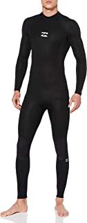 BILLABONG 男式入侵者 3/2 毫米后拉链 GBS 潜水服 - 黑色