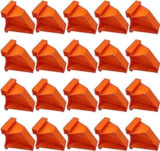 Triangle Design 地板垫片 20 件/包,家用层压木地板工具,适用于乙烯基木板/硬木/浮动地板安装,硬木地板,带 1/4 和 1/2 英寸间隙
