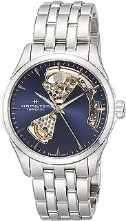 HAMILTON Jazzmaster Open Heart Auto Jazzmaster Open Heart Auto Jazzmaster 自动 36.00MM 蓝色×银色