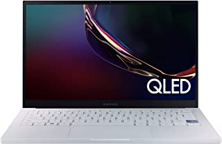 Samsung 三星 Galaxy Book Ion 13.3 英寸笔记本电脑| QLED 显示屏和英特尔酷睿 i7 处理器| 8GB 内存 | 512GB SSD | 电池寿命长,Windows 10 操作系统 | (NP930XCJ-K01US)