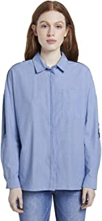 TOM TAILOR DENIM 女士 Boxy 衬衫衬衣