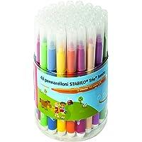 STABILO 思笔乐 Trio Jumbo 系列 48 件装 12 种不同颜色