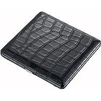 Visol Products 扎伊尔鳄鱼图案香*盒,黑色