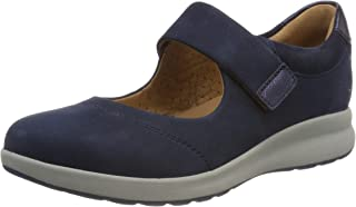 Clarks 女士 Un Adorn 绑带 乐福鞋