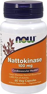 NOW 诺奥 纳豆激酶 100 毫克,60 粒素食胶囊