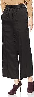 Mila Owin 侧开叉绸缎阔腿裤 09WFP195217 女款