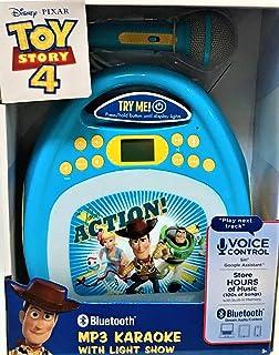 eKids 玩具总动员 4 蓝牙 MP3 卡拉 OK 机带灯光秀