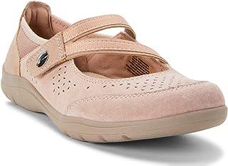 Earth Spirit 女式 Genome Mary Jane 皮革鞋,棕褐色,尺码 (10)