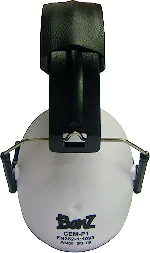 baby banz儿童防噪音放鞭炮保护耳罩-奶白色 2-10岁