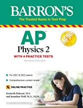 AP Physics 2: With 4 Practice Tests (Barron's Test Prep) (English Edition)