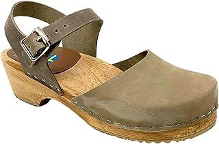 MIA 女式索菲亚洞洞凉鞋(卡其色,中号