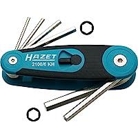 HAZET 2100/6KH 六角形偏距螺丝刀套装 - 镀镍