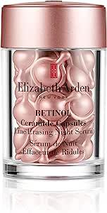 Elizabeth Arden 伊丽莎白雅顿 视黄醇神经酰胺夜间胶囊精华 去眼袋,30粒