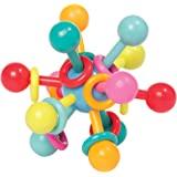 Manhattan Toy Atom 婴儿拨浪鼓牙胶抓握活动玩具