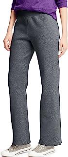 Hanes 女式羊毛长裤 OPEN 腿运动裤常规 S–2X L 码
